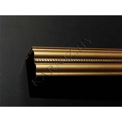 Карниз алюминиевый потолочный АМЕ23 металлик