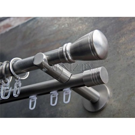 Карниз Gardinia Зиро сталь