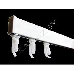 Шина потолочная алюминиевая на 1 ряд