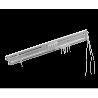 Алюминиевый двухрядный карниз с управлением Katal 2